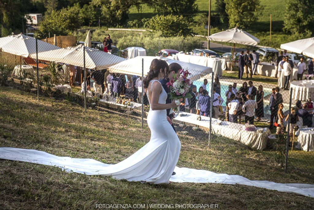 matrimonio location all'aperto